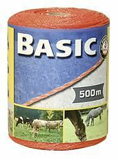 Corral Basic Fencing Polywire 500M Equine Horse Fencing