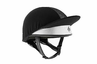 Charles Owen Pro Ii Silver Equine Horse Hats
