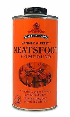 Carr & Day & Martin Neatsfoot Compound Equine Horse Leather Care