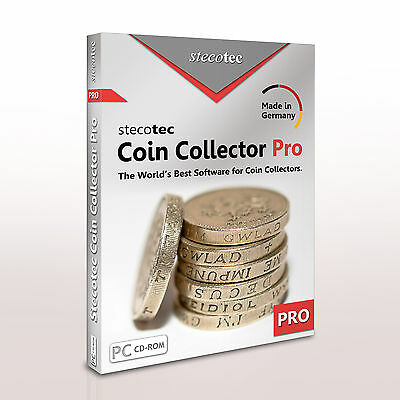 Stecotec Coin Collector Pro - Management Software for Coins / Numismatic Program
