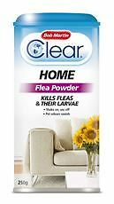 Bob Martin Clear Home Flea Powder Pet Animal Pet Household Products