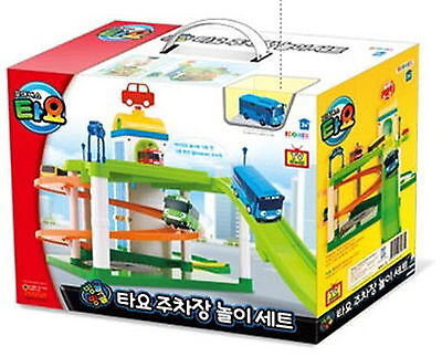 """The Little Bus TAYO """"Parking center play set"""" Toy Korea animation TV character"""