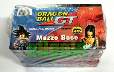 Dragon Ball Gt Gioco Di Carte Box Sigillato 8 Mazzi Base Cyborg Goku Pan Trunks