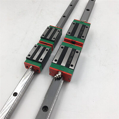 HIWIN HGR25 L-750mm Linear Rail Guide + 2pcs Rail Block HGH25CA CNC Router Kit