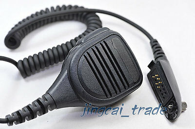 Rainproof Water-Resistant Speaker Microphone Mic for Motorola radio GP328 GP340