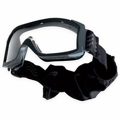 Bolle Tactical X1000 Dual Lens Ballistic Safety Military Army Goggles Clear Lens