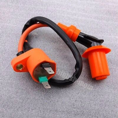 Racing Ignition Coil Fit Kymco SYM Vento Scooter Moped GY6 50 125cc 150cc Engine