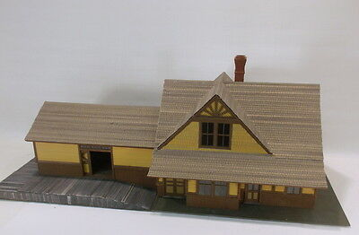 "S Sn3 RAGGS CUSTOM BUILT CRAFTSMAN "" D&RGW CRESTED BUTTE,CO DEPOT "" NEW"