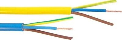 1M - ARCTIC BLUE YELLOW 3183Y FLEX CABLE 3CORE 6mm 4mm 2.5mm 1.5mm OUTDOOR