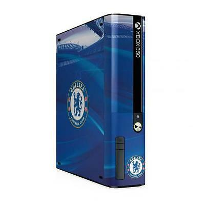 Chelsea Xbox 360 E GO Console Skin Gift New Official Licensed Football