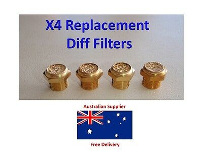 Diff Breather Replacement Filters - suitable for Air Filter Housing Installation