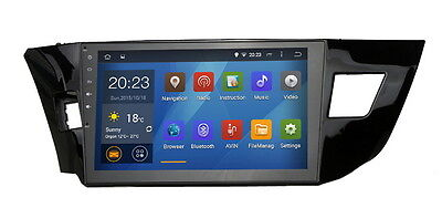 """10.2"""" Android 5.1.1 Lollipop Car Stereo GPS for Toyota Corolla 2014-2016 Radio"""