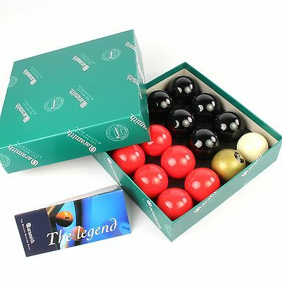 EXCLUSIVE! Aramith Premier GOLD 8 BALL Edition RED and BLACK Pool Balls