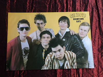 Boomtown Rats - Rock /pop Music - 1 Page  Picture- Clipping/cutting