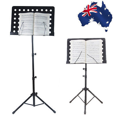 Music Sheet Stand Professional Large Adjustable Folding Heavy Stage SMUKE 28