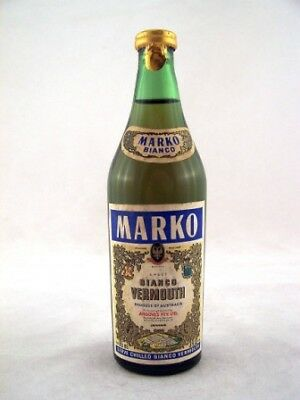 Miniature circa 1973 Marko Bianco Vermouth Isle of Wine