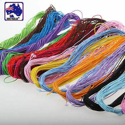 100M 1.0mm Bead Elastic Bracelet Rubber Band Cord Beading Jewelry String HNROP