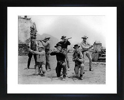 Magnificent Seven Framed Photo CP0301