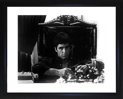 Al Pacino Scarface Framed Photo  CP0007