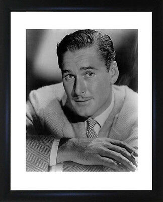 Errol Flynn Framed Photo CP0142