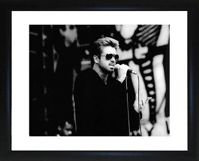 George Michael Framed Photo CP0185