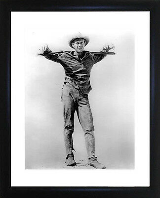 Steve McQueen Framed Photo CP0461