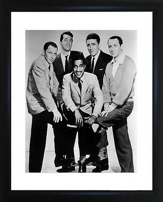 Rat Pack Framed Photo CP0417
