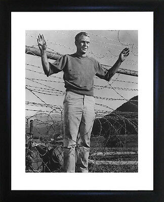 Steve McQueen Great Escape Framed Photo CP0462