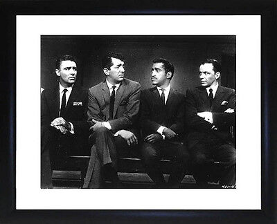 Rat Pack Framed Photo CP0413