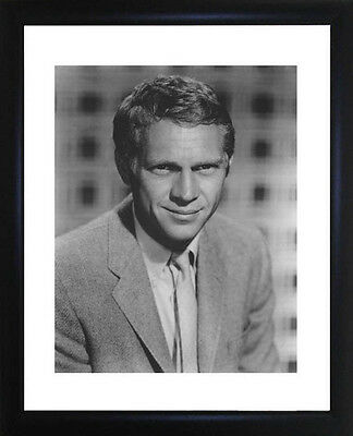 Steve McQueen Framed Photo CP0527