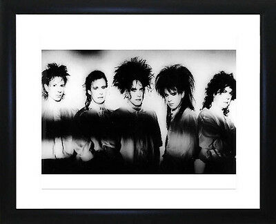 The Cure Framed Photo CP0487