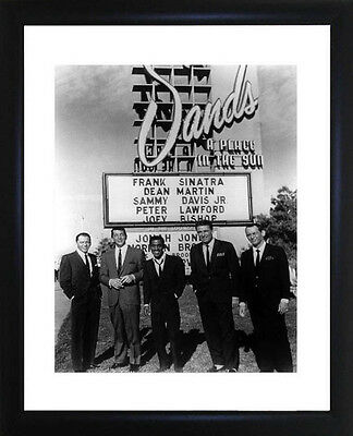 Rat Pack Framed Photo CP0414