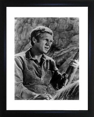 Steve McQueen Framed Photo CP0460