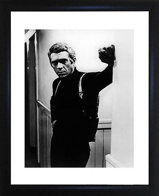 Steve McQueen Framed Photo CP0615