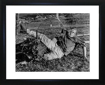 Steve McQueen Great Escape Framed Photo CP0490