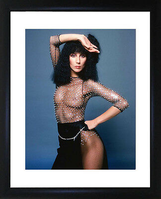 Cher Framed Photo CP1569