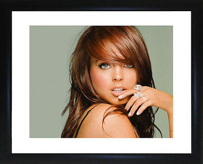 Lindsay Lohan Framed Photo CP1695
