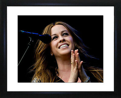 Alanis Morissette  Framed Photo CP1350