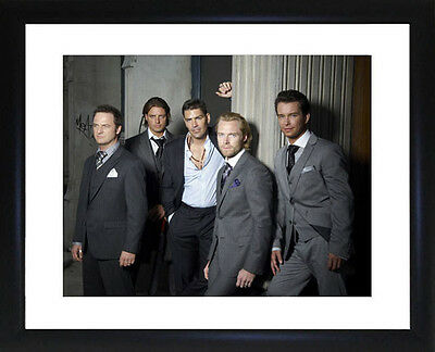 Boyzone Framed Photo CP1506