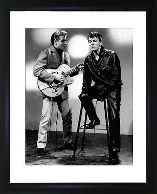Vincent And Cochran Framed Photo  CP1726