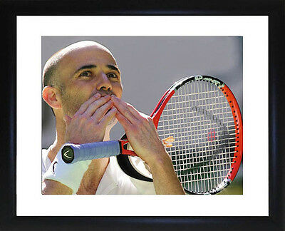 Andre Agassi Framed Photo CP0852
