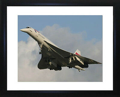 Concorde Framed Photo CP1154
