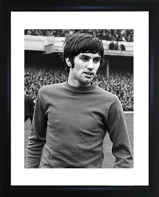 George Best Framed Photo CP0896