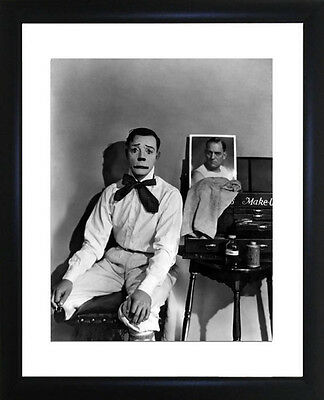 Buster Keaton Framed Photo CP1529