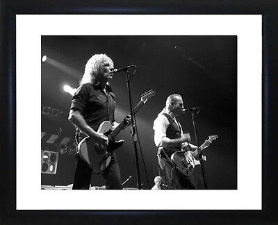 Status Quo Framed Photo CP1008