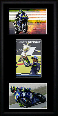 Valentino Rossi  Framed Photographs PB0198