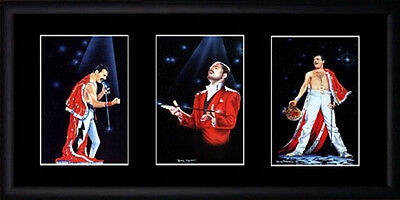 Freddie Mercury Framed Photographs PB0008