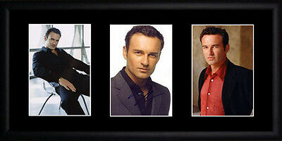 Julian McMahon Framed Photographs PB0386
