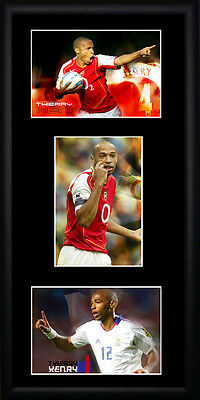 Thierry Henry  Framed Photographs PB0199