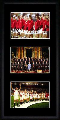 England Rugby World Cup Framed Photographs PB0260